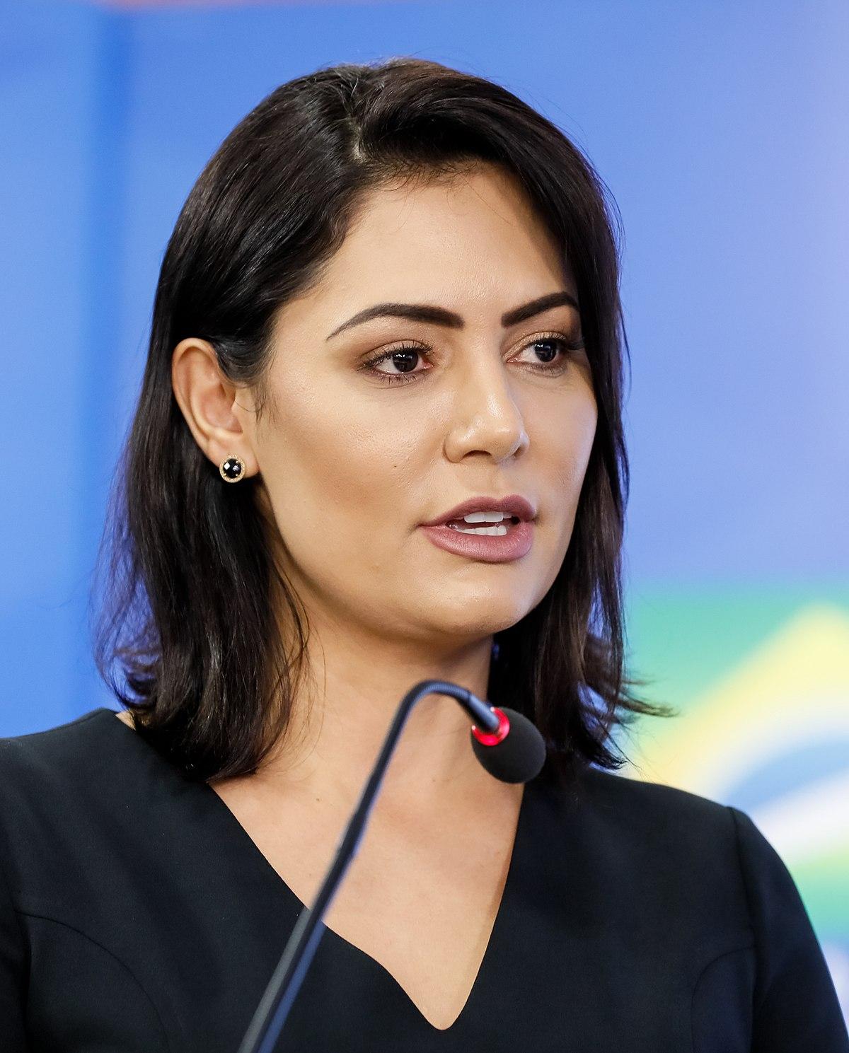 michelle bolsonaro lady brazil wikipedia president