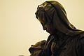 Miguel Ángel Buonarroti's Pietà bronze replica at Museo Soumaya 07.JPG