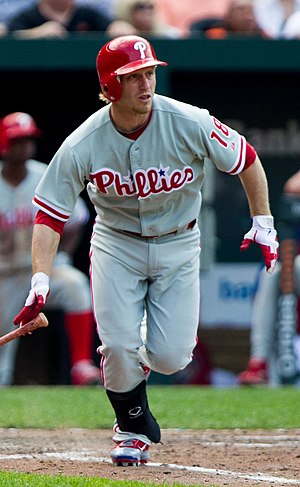 Mike Fontenot - Fontenot with the Philadelphia Phillies