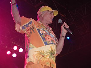 Mike Love in concert, June 2006.}