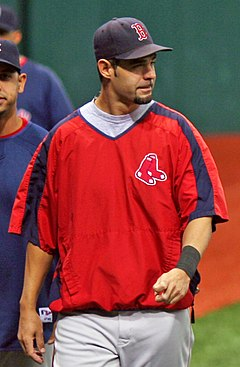 Mike Lowell beim Spring Training 2007