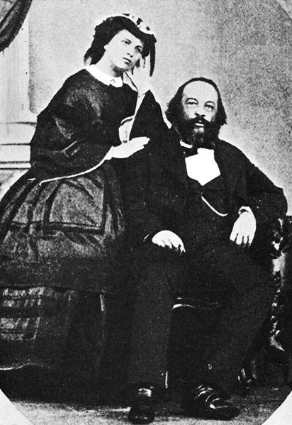 File:Mikhail Bakunin and Antonia.jpg