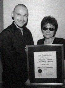 Mikhail Tarasov & Yoko Ono