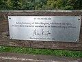 Miles Kington memorial bench, Conkwell - 2017-09-26 - Richard Lucking - 01.jpg
