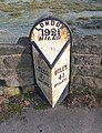 Milestone - Leeds Road (geograph 3243516).jpg
