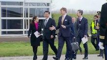 File:Militair ceremonieel aankomst Chinees staatshoofd op Schiphol DEF20140322.ogv