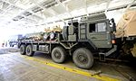 Military Vehicles loaded at Marchwood for Ex Shamal Storm MOD 45159741.jpg