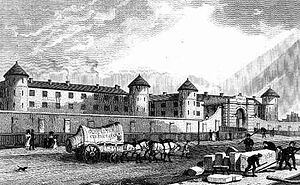 Millbank Prison - Millbank Prison in the 1820s.