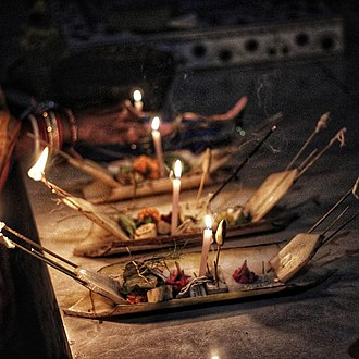 Kartik Purnima - People in Odisha celebrate Kartik Purnima by setting afloat miniature boita (boats) made from banana stem to remember the historical significance of the day.