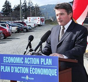 Minister of Natural Resources (Canada) - Image: Minister Lunn EAP