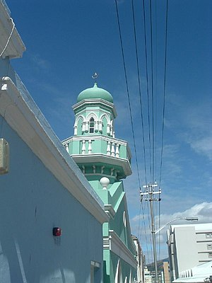 Religion in South Africa - Mosque in the Bo-Kaap suburb of Cape Town.