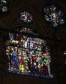 Miracoli della madonna di orsanmichele, n2, leonardo di simone su dis. attr. ad agnolo gaddi, 1380-1400 ca. 03 mano amputata di papa leone.jpg