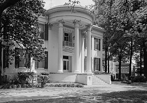 William Nichols (architect) - The Mississippi Governors Mansion, completed in 1839.  Still used for its intended purpose.