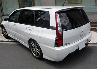 Mitsubishi Lancer Evolution - Mitsubishi Lancer Evolution wagon (Japan)