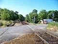 Modřany, U soutoku, železniční přejezd (01).jpg