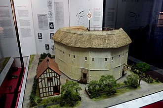 The Rose (theatre) - Model of The Rose in the Museum of London.