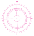 Modern Nautical Compass Rose.png