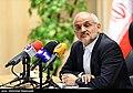 Mohsen Haji-Mirzaei in a press conference 2019-11-30 03.jpg
