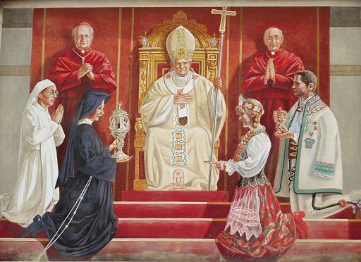 Moment beatyfikacji Jana Pawła II (8706113105)
