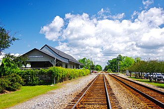 Moncks Corner, South Carolina - Depot in Moncks Corner