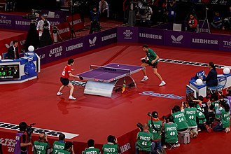 Table tennis - Table tennis at the highest level