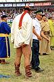 Mongolskie zapasy na stadionie w Ułan Bator 01.JPG