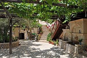 English: Kapsa monastery (Μονή Καψά), Crete (G...