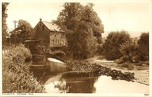 Monnow Mill - Image: Monmouth Monnow Mill 1940