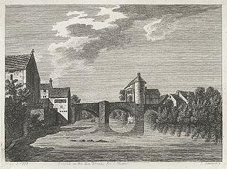 Monnow gate and bridge, Monmouth