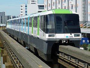 Tokyo Monorail 1000 series - Image: Monorail 1000n wiki