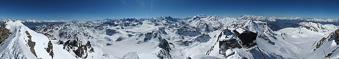 Mont Fort panoramic view01 360 degrees 2015-04-26.jpg