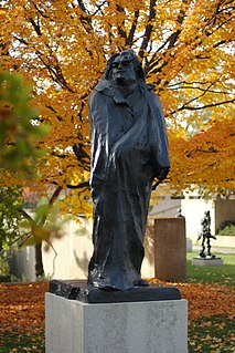 <i>Monument to Balzac</i> artwork by Auguste Rodin