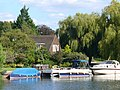 Moorings at Mill End - geograph.org.uk - 536841.jpg
