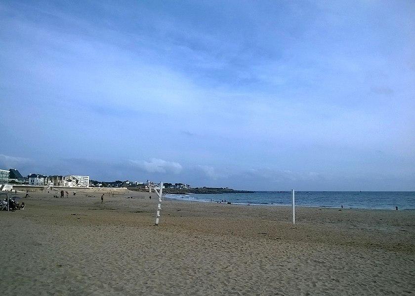 Morbihan Quiberon La Grand Plage Beach Volley 24092016