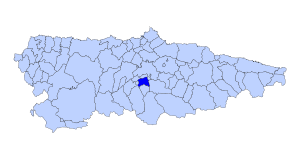 Morcin Asturies map.svg