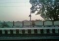Morning View at Elamanchili Railway Station1.jpg