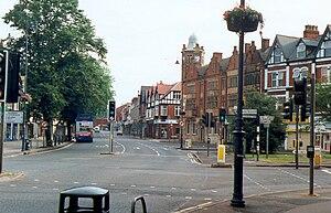 Moseley - Image: Moseley, suburb of Birmingham