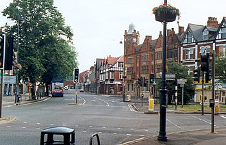 Moseley - Image: Moseley, suburb of Birmingham