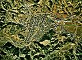 Motegi town center area Aerial photograph.1974.jpg