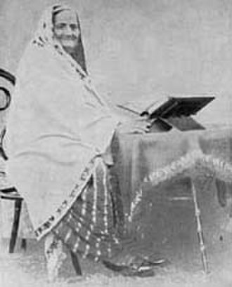 Muhammad Iqbal - Iqbal's mother, who died on 9 November 1914. Iqbal expressed his feeling of pathos in a poetic form after her death.