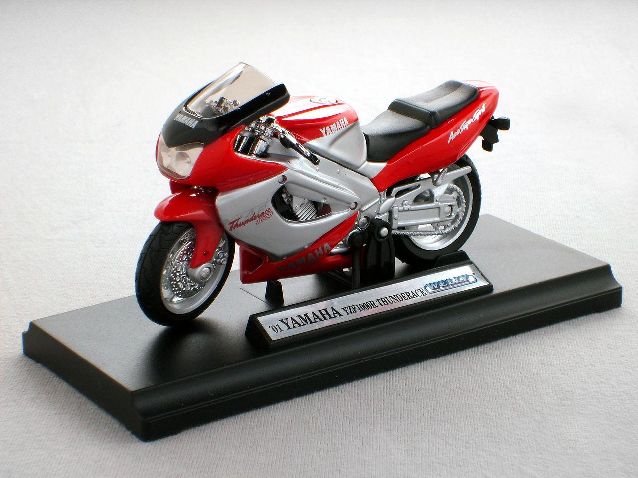 Diecast Motorcycle Yamaha Yzf R