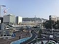 Mount Futabayama from north entrance of Hiroshima Station.jpg