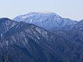 Mount Ibuki from Mount Ozugongen.jpg