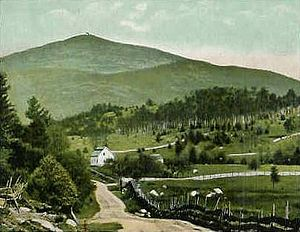 Conway, New Hampshire - Mount Kearsarge in 1910