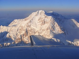 Denali Borough, Alaska - Image: Mount Mc Kinley Summit Flight panoramio