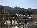 Mount Misen from Honden of Toyokuni Shrine.jpg