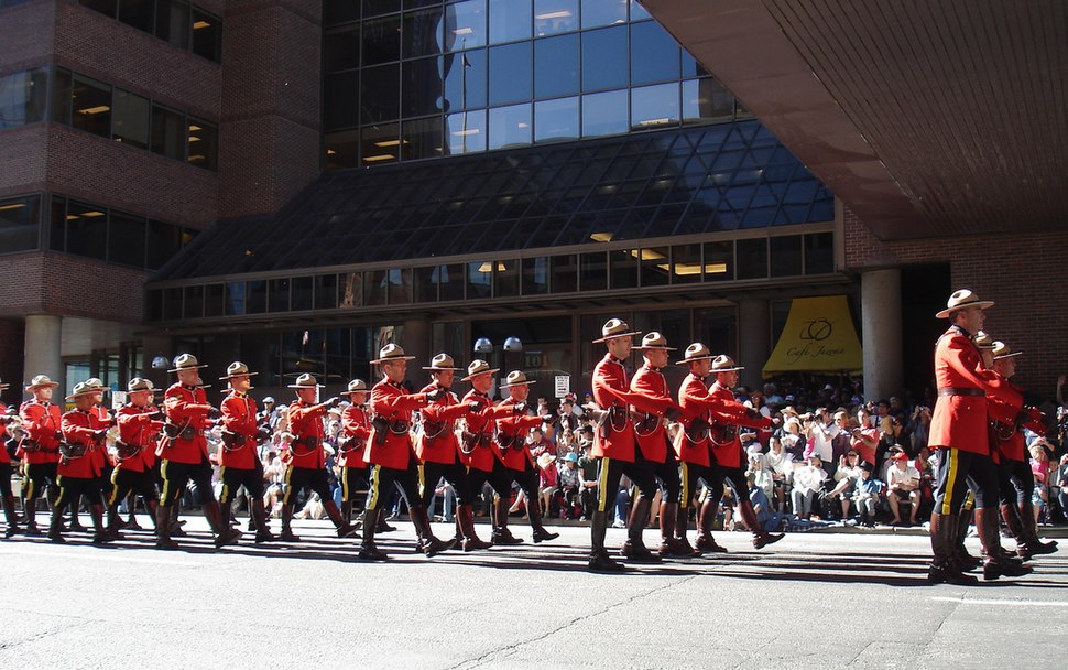 Mounties at the Calgary Stampede Parade 2011