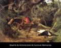 Muerte del Gran Mariscal de Ayacucho Antonio José de Sucre..png