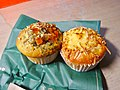 Muffins with all sorts of things sprinkled on top.jpg