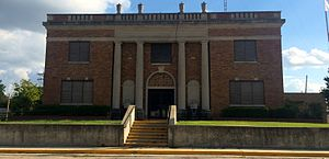 National Register of Historic Places listings in Murray County, Oklahoma - Image: Murray County Courthouse OK